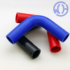 90 degree Silicone Hose Elbows Coolant Water Boost Inlet Reinforced Pipes