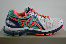 Asics GT -2000 3 BLANC / FLASH CORAL course à pied chaussures chaussures sport