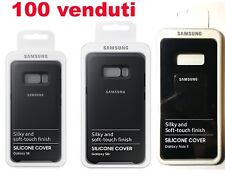 Cover originale custodia per Samsung Galaxy S8,  S8+, S9, S9+, Note 8 silicone