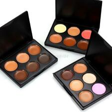 Professional 6 Colors Cream Contour Concealer Foundation Palette Makeup Set Suit