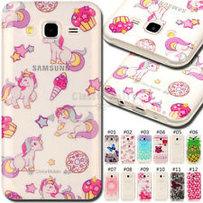 For Samsung Galaxy J5(2015) Rubber TPU Silicone Protective Soft Back Cover Case