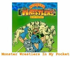 Monster Wrestlers In My Pocket - Mini Figure MIMP MWIMP Matchbox