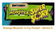 Monster in my Pocket - Series 4 Super Scary - Mini Figure MIMP Matchbox Orange