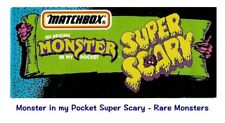 Monster in my Pocket - Series 4 Super Scary - Mini Figure MIMP Matchbox - Rare