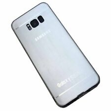 Premium Quality Metallic-Look Back Soft Silicon Back Case Cover For Samsung S8 +