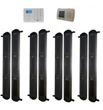Set of 3B-100 Solar Wireless Perimeter Beams with Receiver & GSM Auto-Dialler