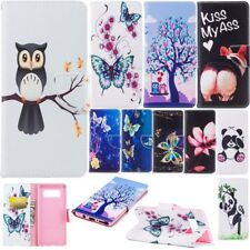 For Various Phone Luxury Leather Magnetic Flip Stand Card Slot Wallet Case Cover