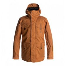 GIACCA SNOWBOARD UOMO DC SERVO JACKET LEATHER BROWN