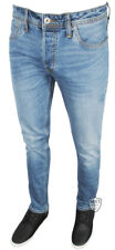 Mens New Jack Jones Blue Denim JJTIM Slim fit Jeans