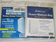 Plastic KING QUEEN TWIN Size MATTRESS COVER BAG Waterproof Protector MOVING K Q