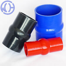 Hump Bellows Silicone Hose Connectors Coolant Water Boost Inlet Reinforced Pipes