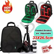 Waterproof Shockproof SLR DSLR Camera Bag Case Backpack For Canon Sony Nikon WP