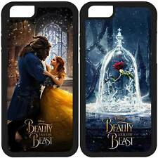 LA BELLA Y LA BESTIA IPHONE 4 4S 5 5S SE 6 6S 7 PLUS CARCASA FUNDA