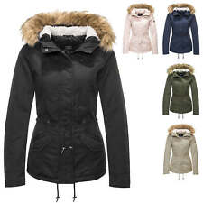 Only Damen Winterjacke Parka Kurzmantel Kapuzenjacke Damenjacke Color Mix NEU