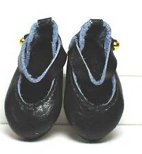 boneka 30x per bambole tg. Mary janes Nero / 30x dollshoes Mary janes Black