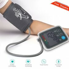 Fully Automatic Digital Upper Arm Blood Pressure Monitor Pulse Rate Testing WS