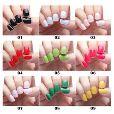 20x Self-adhesive Nail Polish Foils Decals Stickers Nail Art Wrap Patch Manicure