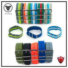 Nato Watch Strap Band Army Nylon Divers Military Mens Steel Buckle Nylon 22mm