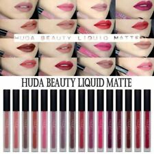 New Huda Beauty Liquid Lip Matte Lipstick Lip gloss Boxed UK Seller – 14 Shades