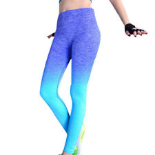 Women Leggings Yoga Fitness Gym Pants Sports Running High Waist Trousers Clothes