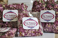 Rosa Damascene Buds & Petals  Dried  for soap,candles JUMBO Pack