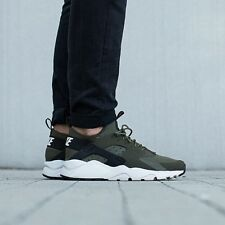Nike Huarache Ultra ® ( Men Size UK 12 EUR 47.5 ) Cargo Khaki Olive Green NEW