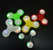 LED Fidget Hand Spinner Toy Stress Reducer EDC Focus Toy Relieves ADHD Anxiety
