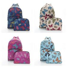 Folding Backpack Travel, Lightweight, Waterproof, Strong Butterfly Design