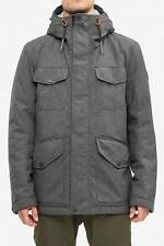 Reell Field Jacket Jacke dark grey melange NEU