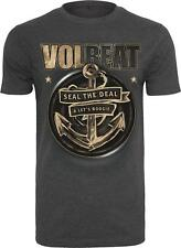 Merchcode Volbeat Seal The Deal T-Shirt charcoal NEU