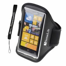 SumacLife Sports Armband with Key Holder for Nokia Lumia 1020 Lumia 928 Lumia 92