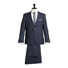 ATELIER TORINO Business Completo Giacca con pantaloni blu navy classic fit