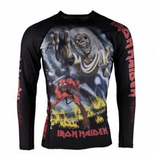TATAMI LADIES X IRON MAIDEN NUMBER OF THE BEAST RASH GUARD - BJJ MMA