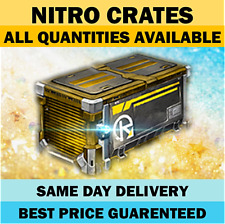 NITRO CRATE - Any Quantities - Rocket League Crates PC Steam [FAST]