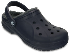 Crocs Adults Classic Fuzz Lined Clog. Classic Clog With Comfy, Warm Liner. Navy