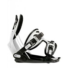 ATTACCO SNOWBOARD FLOW ALPHA CHARCOAL/WHITE 2018