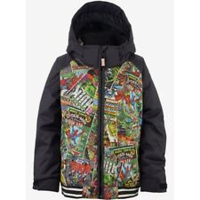 GIACCA SNOWBOARD JUNIOR MARVEL x BURTON BOYS GAME DAY JACKET MARVEL/TRUE BLACK