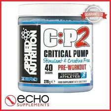 Applied Nutrition C:P2 Critical Pump Zero (20 Servings) - FREE FAST DELIVERY