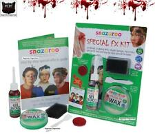 SNAZAROO PROFESSIONAL SPECIAL EFFECTS FX FACE PAINTING MAKE UP KIT FAKE BLOOD