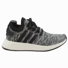Adidas Herren Sneaker NMD_R2 PK Grey/Orange BY9409