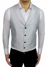 CHALECO CHALECO HOMBRE SARTORIALE ALESSANDRO GILLES GRIS CLARO MADE IN ITALY