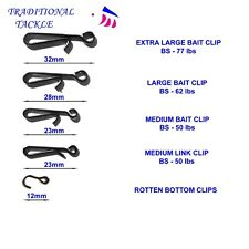 BAIT CLIPS, LINK CLIPS AND ROTTEN BOTTOM CLIPS -  RIG AND LEAD WEIGHTS