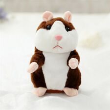 Talking Hamster Toy Pet Educational Gift Mouse Plush Record Speak Kids Sound