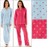 Selena Secrets Selena Ladies Stars Print Pyjama Set Polyester Micro Fleece