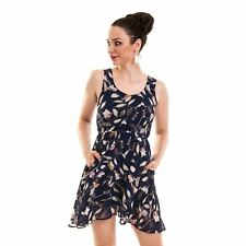 Innocent Lifestyle Karisa Dress Ladies Blue Goth Emo Punk Comic Con Dress up