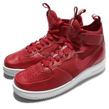 Nike Air Force 1 Ultraforce Mid Red White Men AF1 Shoes Sneakers 864014-600
