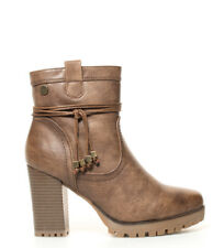 Xti - Botines de tacón taupe Vicky-Altura tacón: 9 cm-  Mujer chica