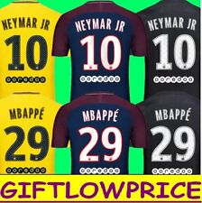 MAILLOTS FOOTBALL PSG MBAPPE - NEYMAR- AWAY/HOME AND THIRD - 2017/2018