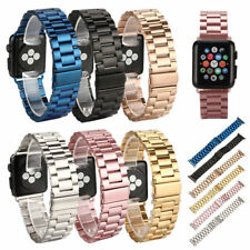 Stainless Steel Strap Band Clasp for Apple Watch 42mm/38 iWatch Replacement UK