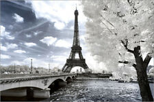 Poster Another Look - Paris Eiffel Tower - Philippe HUGONNARD